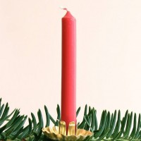 Christmas Tree Candle Holders -- Clip-On