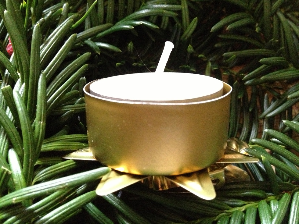 Christmas Tree Tealight Candle Clip Holder Votive Candle