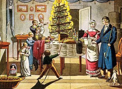 christmas_tree_candle_holders_history victorian christmas trees - Victorian Christmas Trees